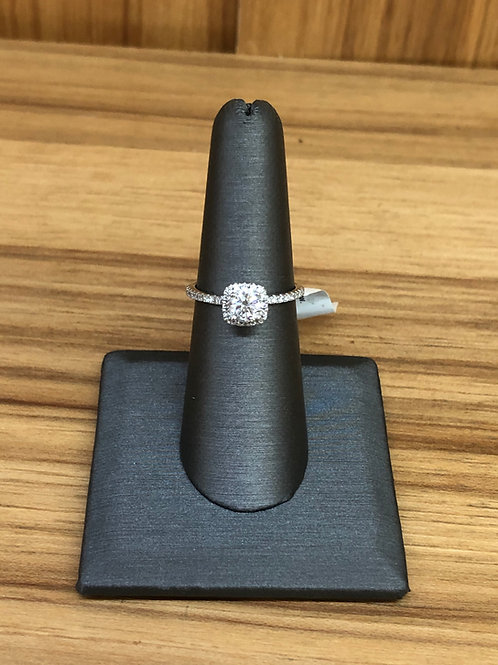 .84 ctw diamond engagement ring