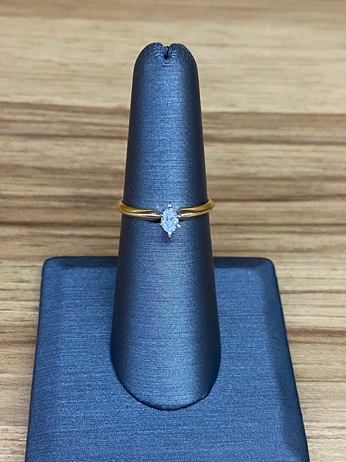 .22 ct marquis diamond engagement ring