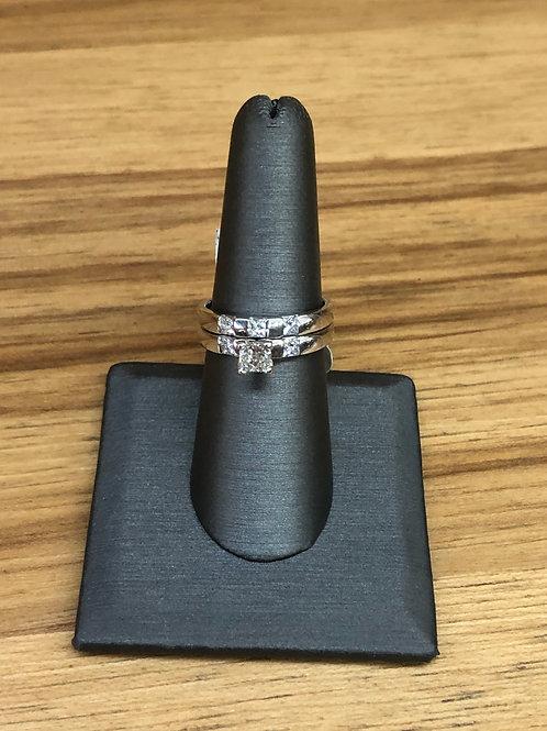 1.11 ctw diamond engagement ring