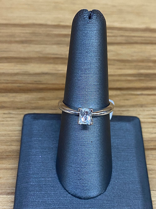 .52 ct princess cut diamond engagement ring
