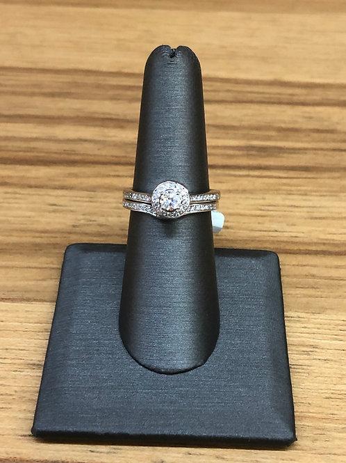 .62 ctw diamond engagement ring