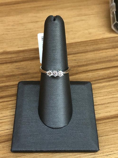 .40 ctw 3 stone ring