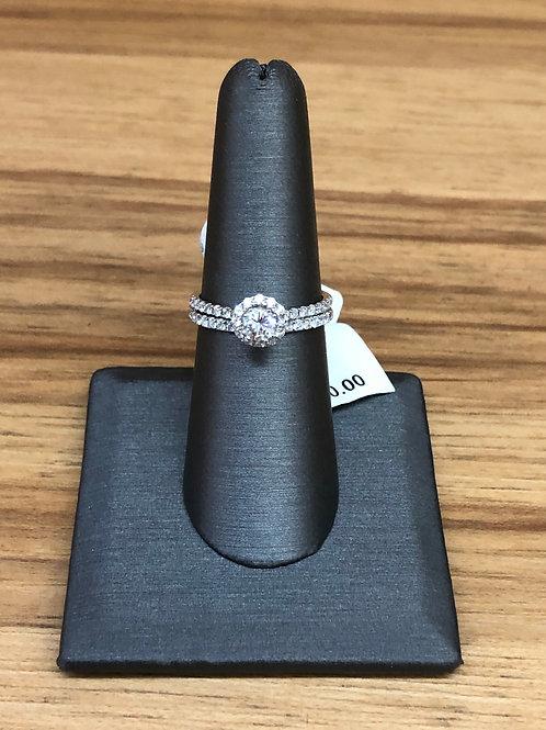 .97 ctw diamond engagement ring