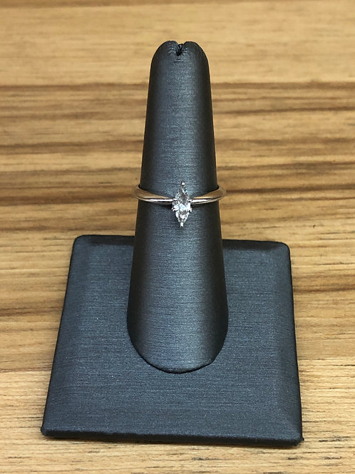 .43 ct marquise diamond engagement ring