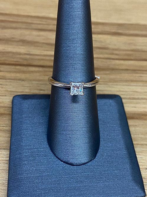 .52 ct princess cut engagement ring