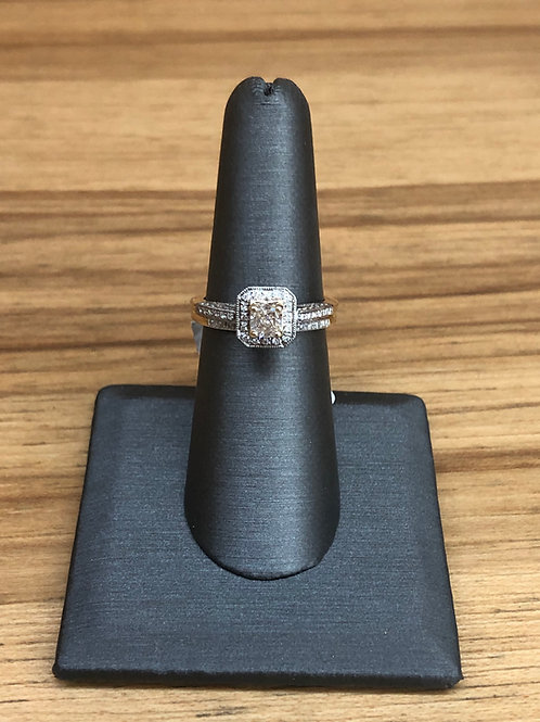 .95 ctw diamond engagement ring