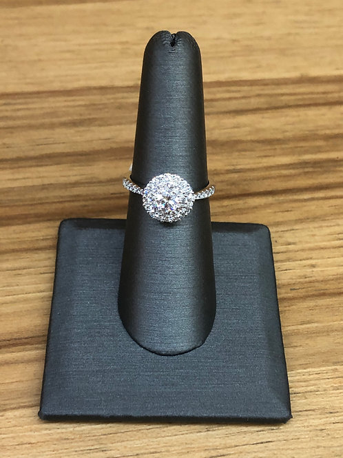 .92 ctw diamond engagement ring