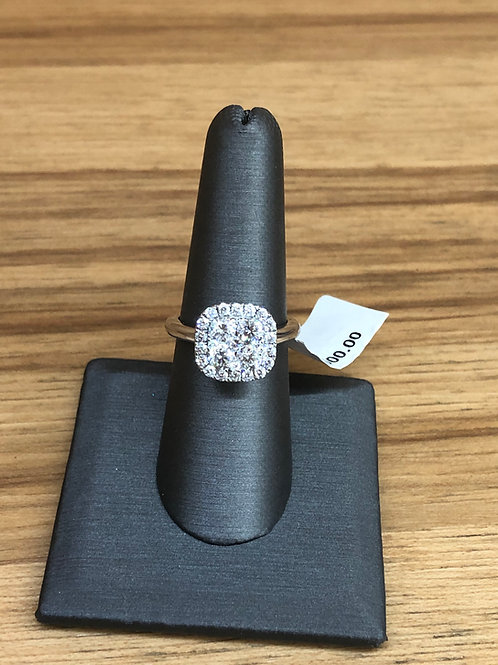 1.70 ctw diamond engagement ring