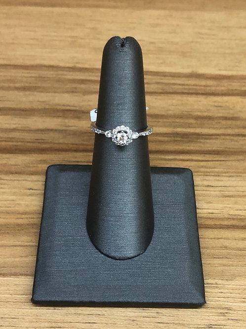 .33 ctw diamond engagement ring