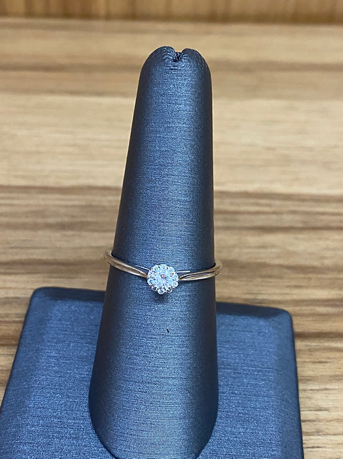.15 ct round diamond engagement ring
