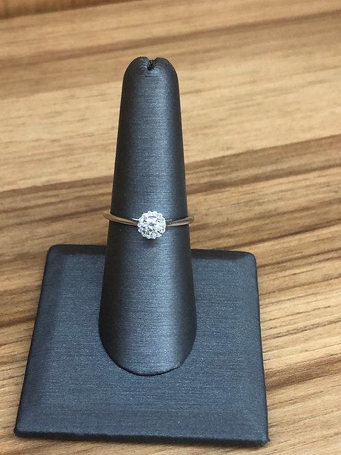 .25 ctw diamond engagement ring