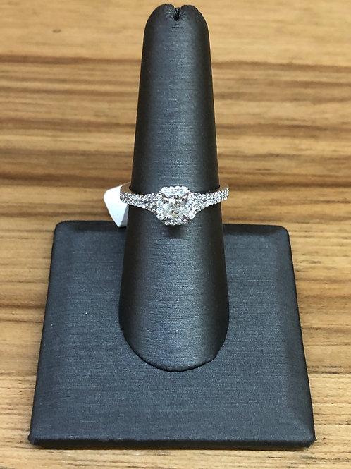 .89 ctw diamond engagement ring