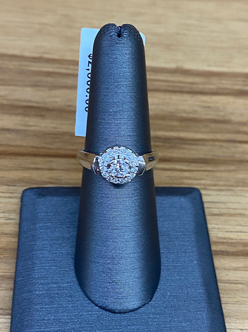 .45 ctw diamond engagement ring