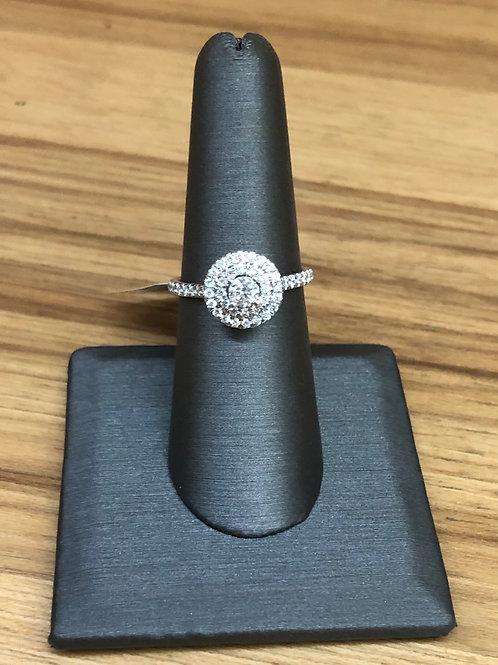 .75 ctw diamond engagement ring