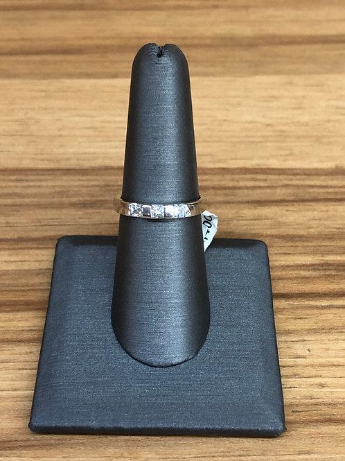 .33 ctw 3 stone ring
