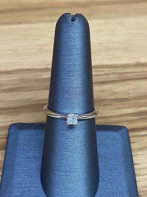 .26 ct princess cut diamond engagement ring