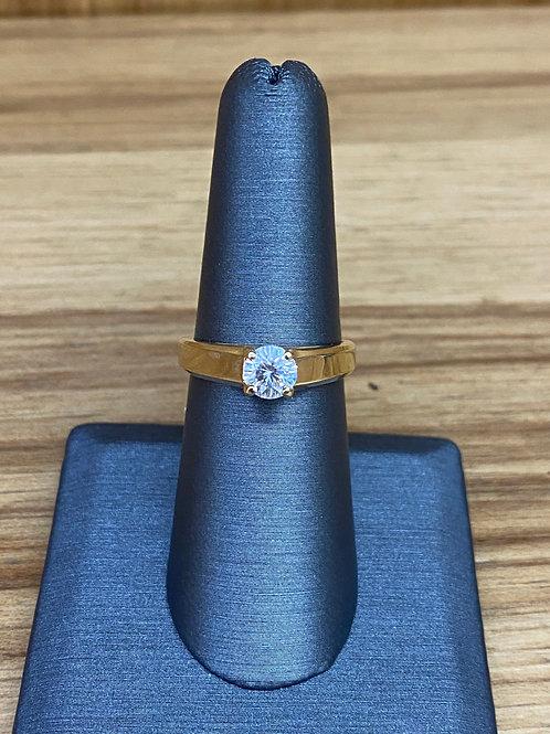 .57 ct round diamond engagement ring