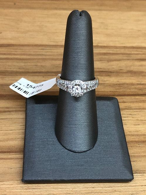 1.00 ctw diamond engagement ring