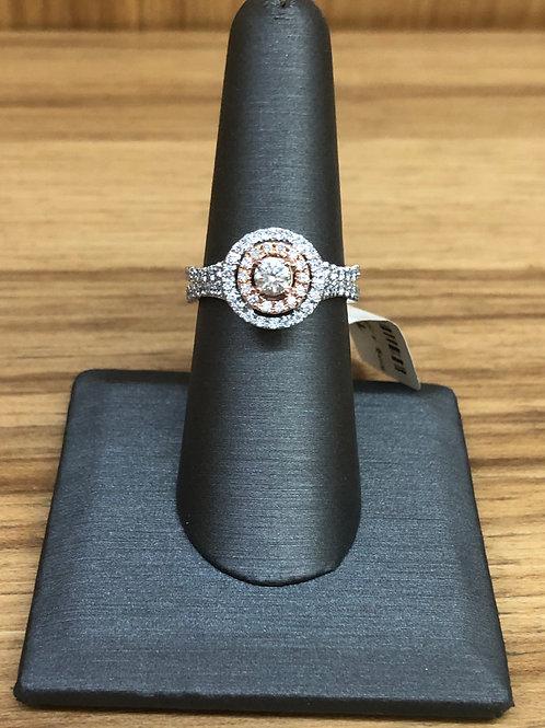 .98 ctw diamond engagement ring