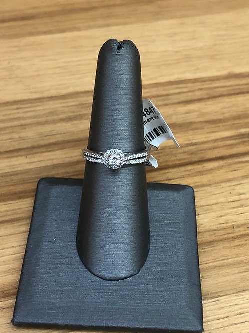 .37 ctw diamond engagement ring