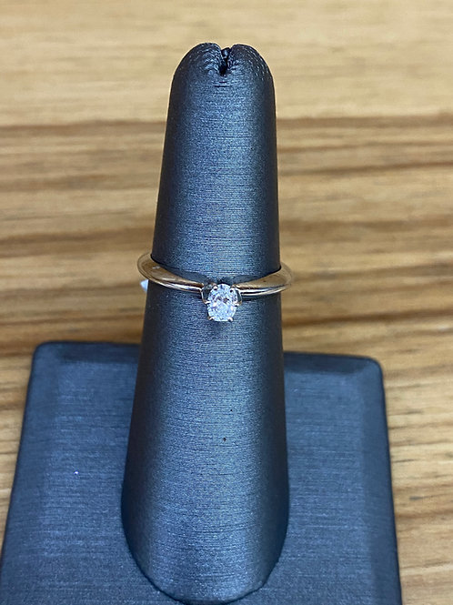 .19 ct oval diamond engagement ring