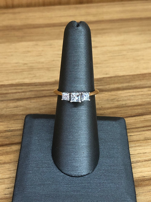 .48 ctw 3 stone ring