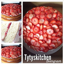 Instagram - Strawberry Shortcake is on the menu today!