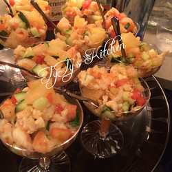 Instagram - Tyty's Seafood Medley Salad! Filled with conch, shrimp and lobster m