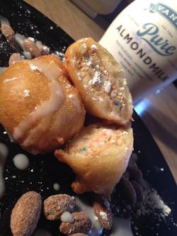 Almond Milk Fried Oreos