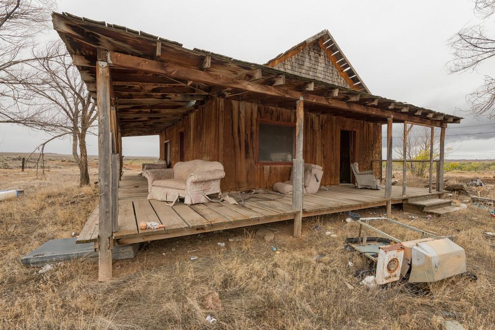 Abandoned home, Colorado.