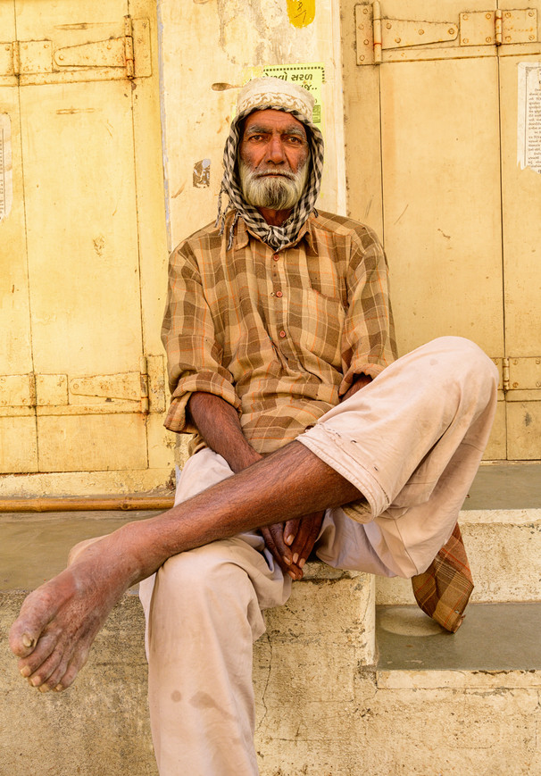 Man in Mandvi