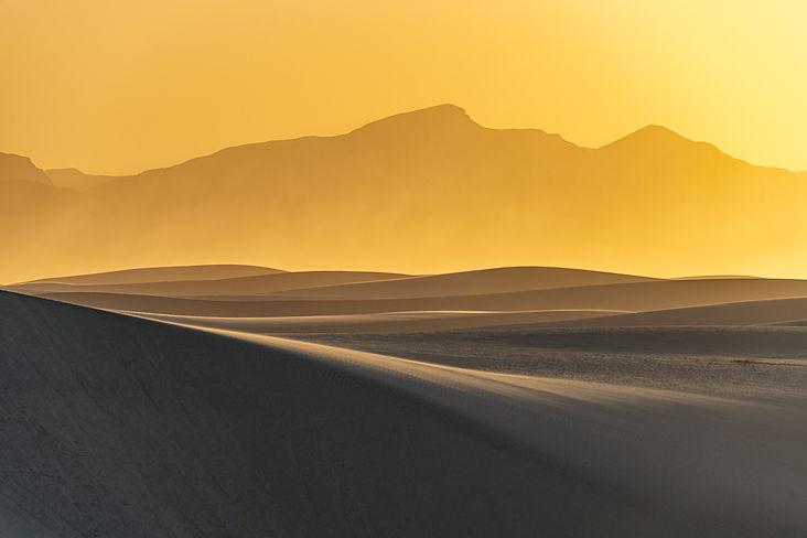 Sand Dune, sunset, New Mexico