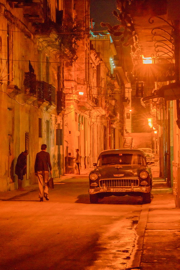 Evening in La Havana, Cuba
