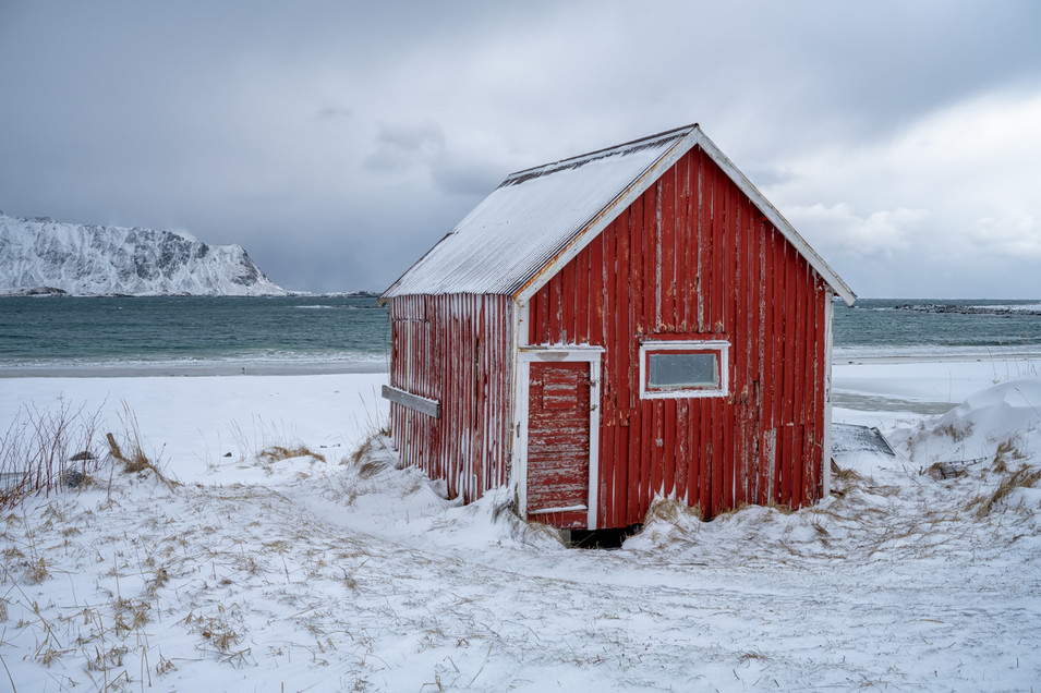 Red Beach Shack