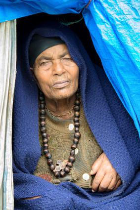 Nun in Addis Ababa