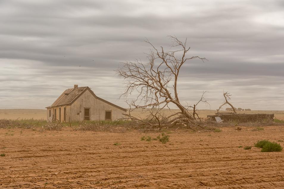 Abandoned home, Texas,