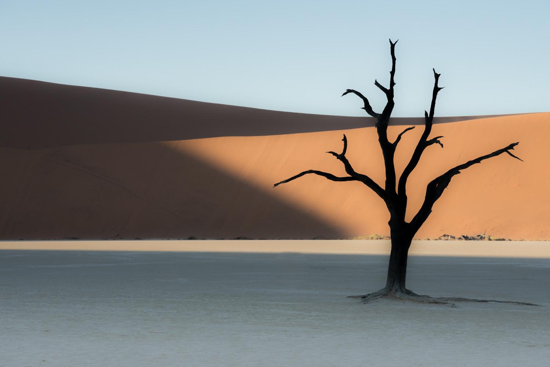 Sunrise in Sossusvlei, Namibia