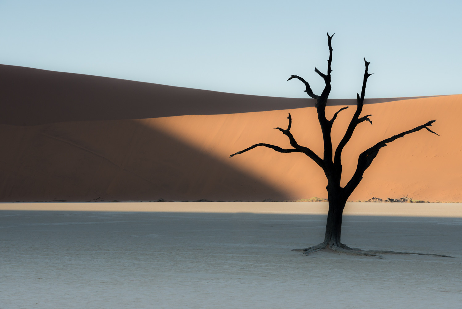 Sunrise in Sossusvlei, Namibia