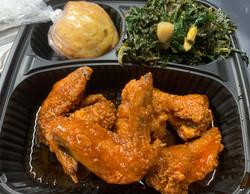 Buffalo Wing Dinner