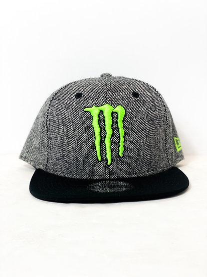 Monster Energy Athlete Only Snapback grey/black BRAND NEW