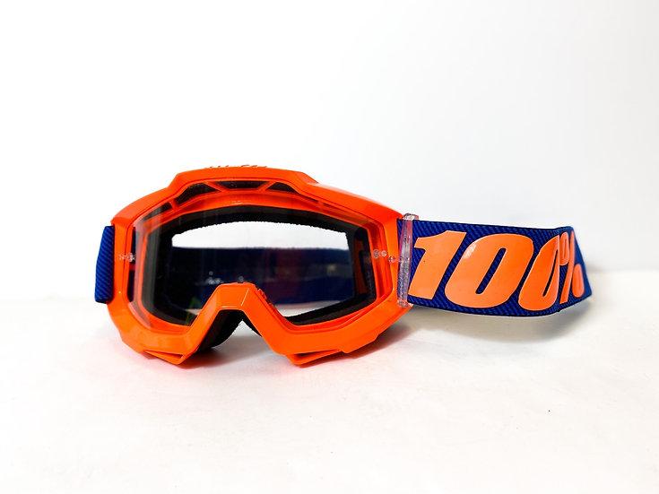 100% Accuri orange/blue