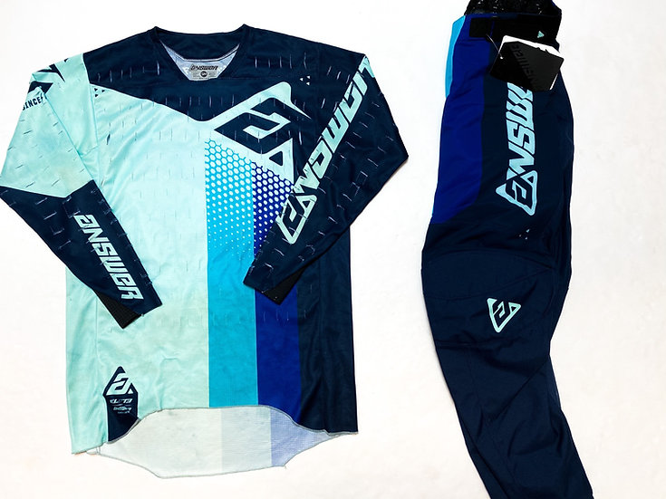 Answer Elite navy/teal gear combo (30/S)