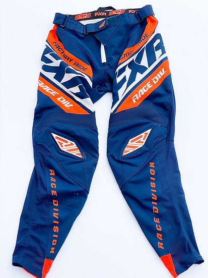 FXR Revo Orange/navy pants size 30
