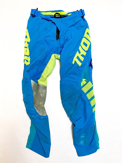 Thor spare pants green/blue Size 28