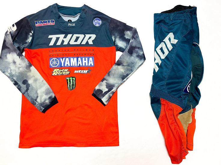 Thor Prime Pro orange/navy gear combo (28/S)