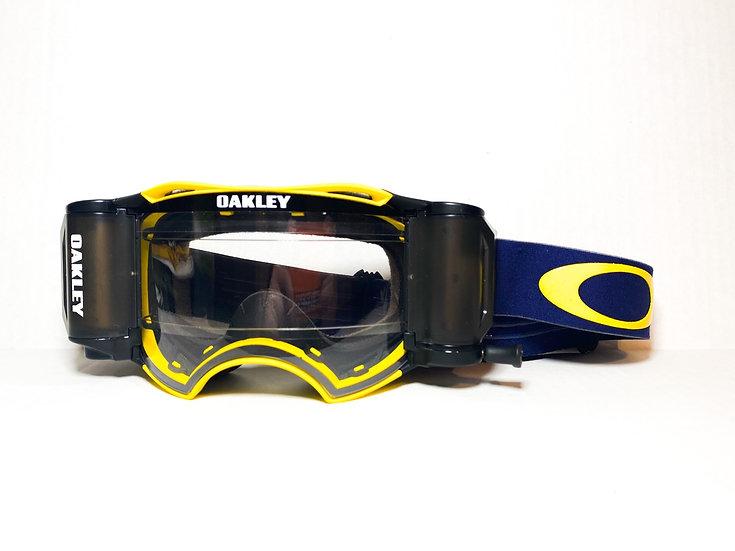 Oakley Airbrake Rolloff navy/yellow