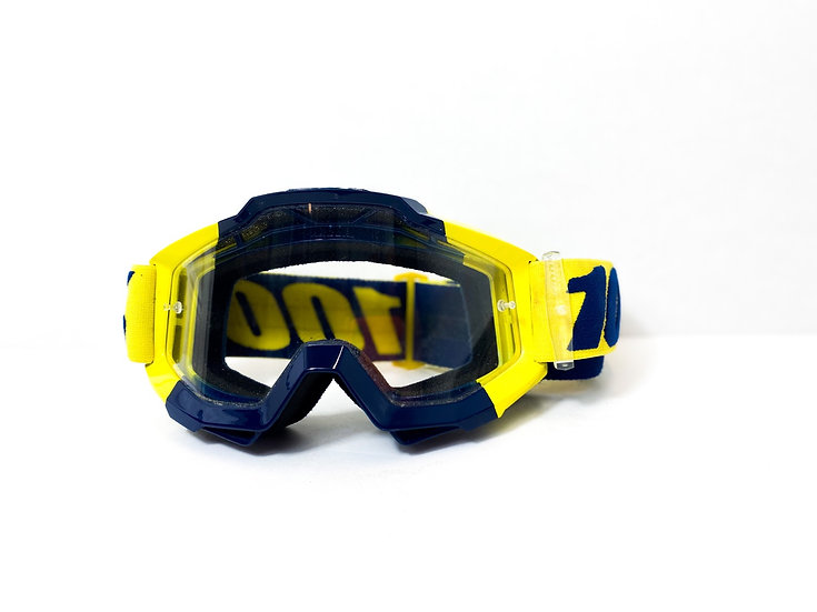 100% Accuri yellow/navy