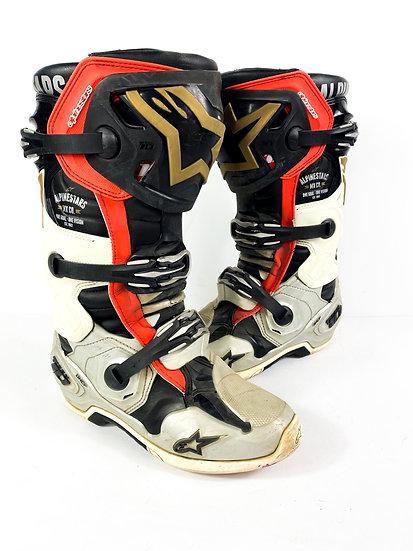 "Alpinestars Tech 10 ""Battleborn LE"" Boots Size 8"