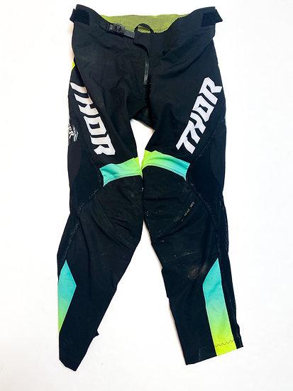 Thor Prime Pro pants green/black Size 32