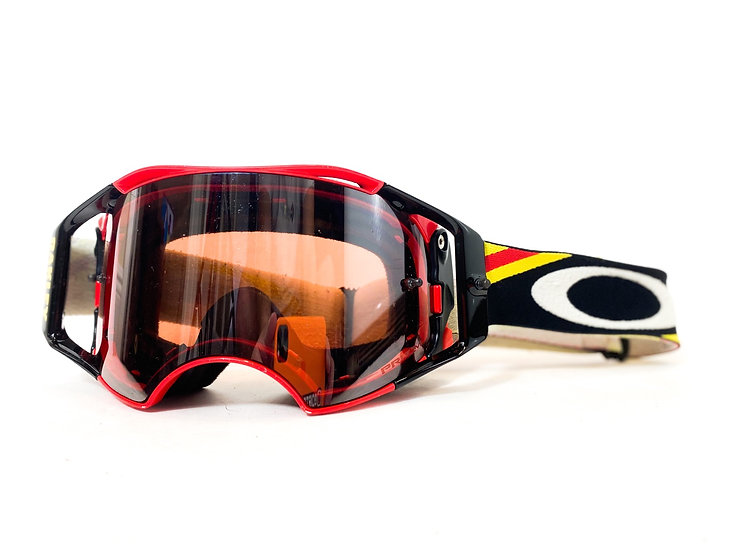 Oakley Airbrake Prizm red/black/yellow
